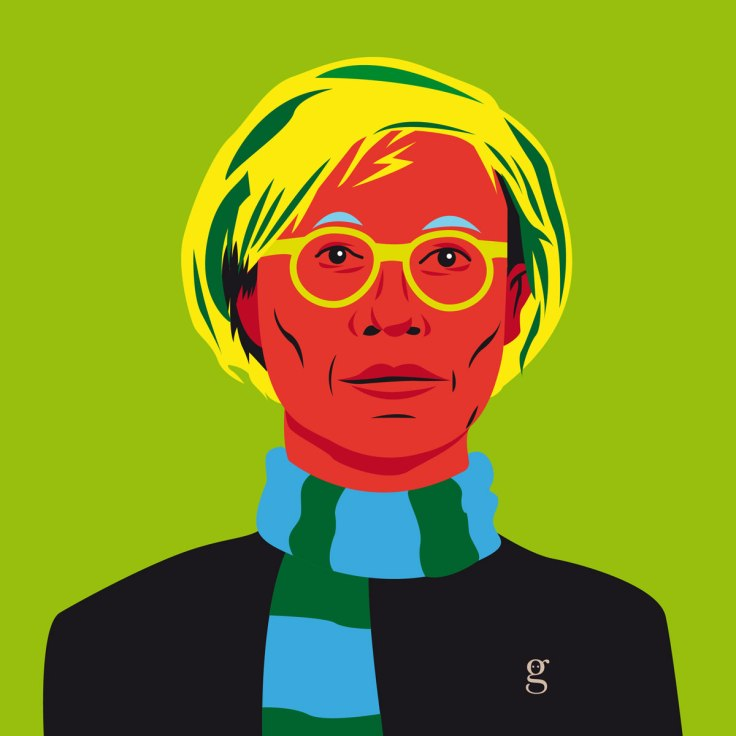 Mashup Andy Warhol x Harry Potter (vector illustration) - variante 6
