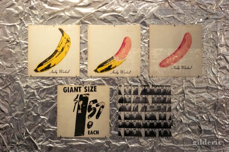 Pochette du Velvet Underground, par Andy Warhol (la Boverie, Liège)
