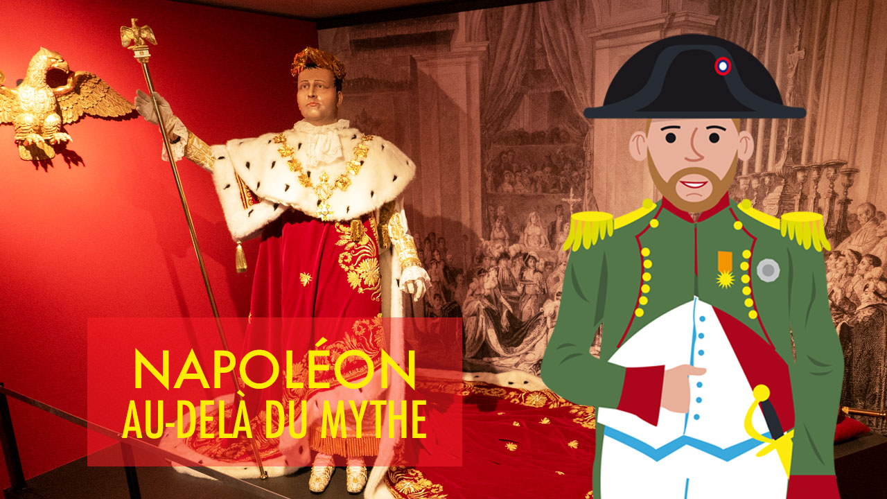 Expo Napoléon : au-delà du mythe à la gare de Liège-Guillemins