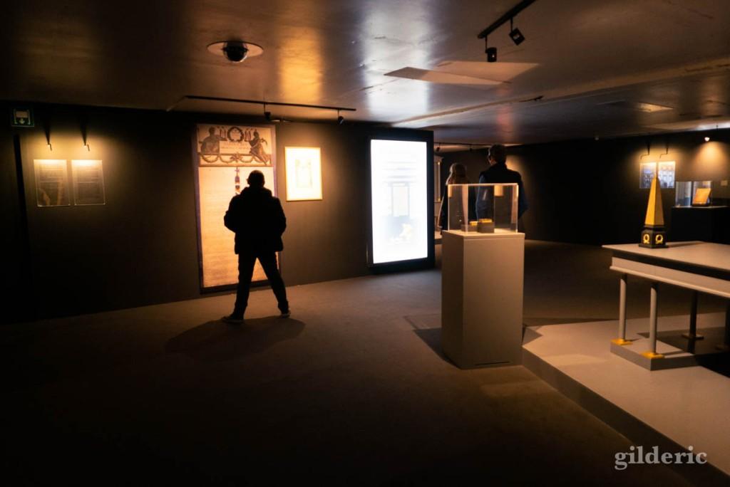 Expo Napoléon : code civil et droits de l'homme (reconstitution)