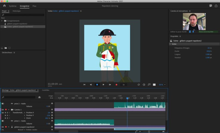 Animer un personnage avec Character Animator