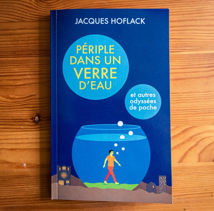 Périple dans un verre d'eau - un livre de Jacques Hoflack - couverture illustrée par Gilderic