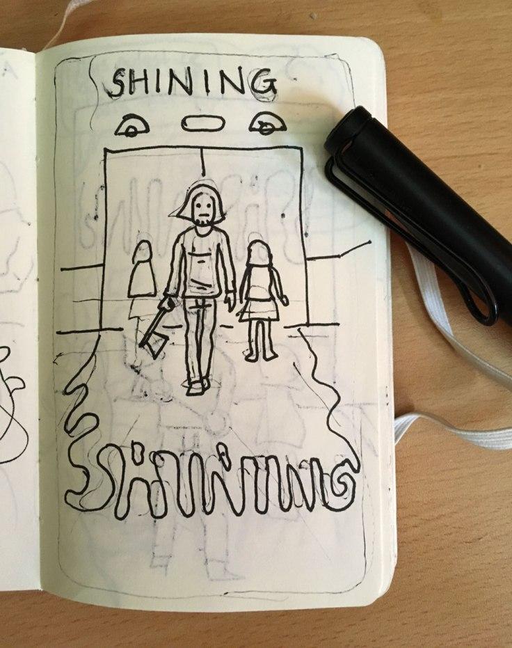 Poster Shining : premier concept