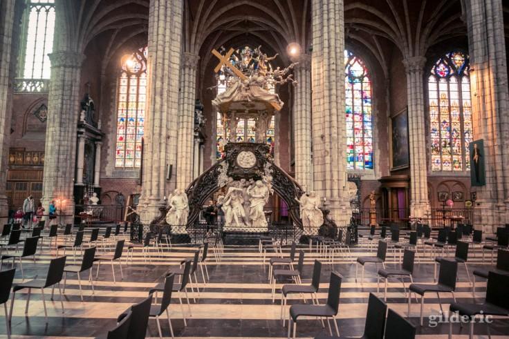Chaire de vérité de la cathédrale Saint-Bavon (Gand) par Laurent Delvaux