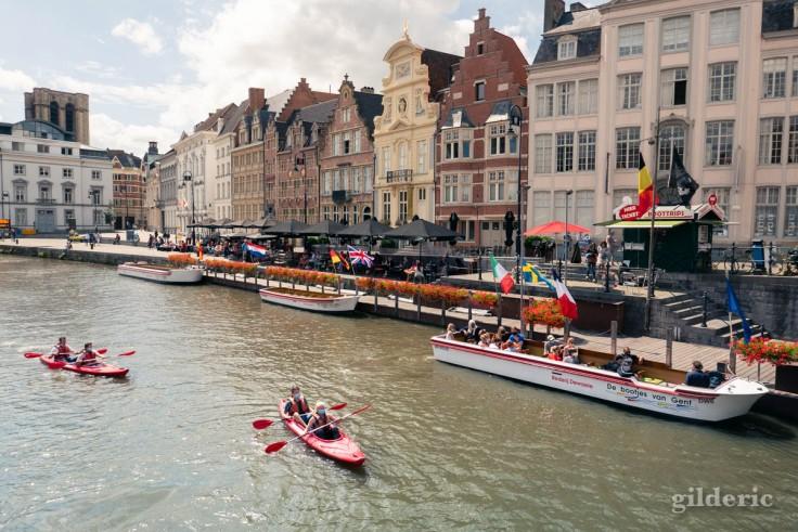 Visiter Gand en kayak