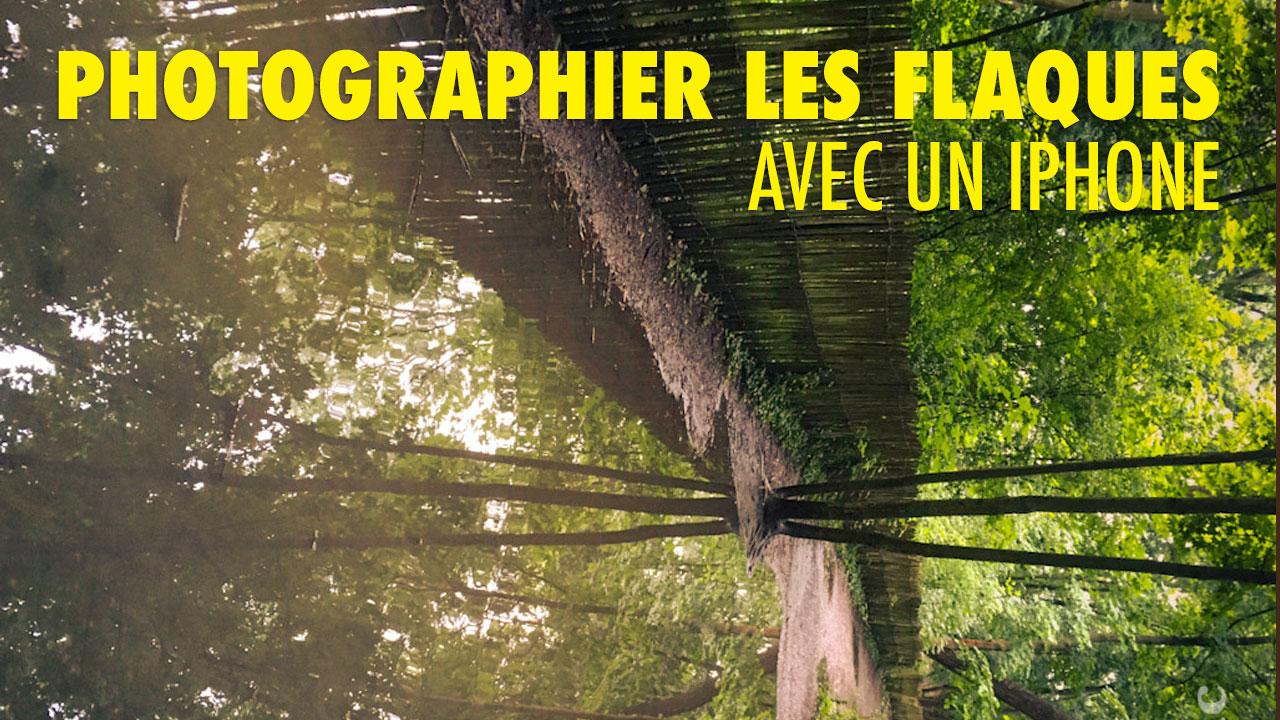 Comment photographier les flaques avec un iPhone