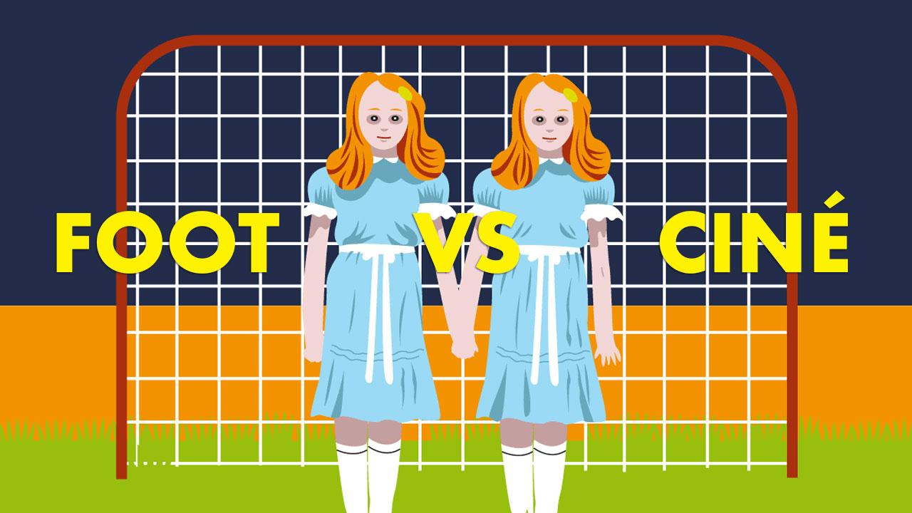 Foot vs ciné : Shining (dessin)