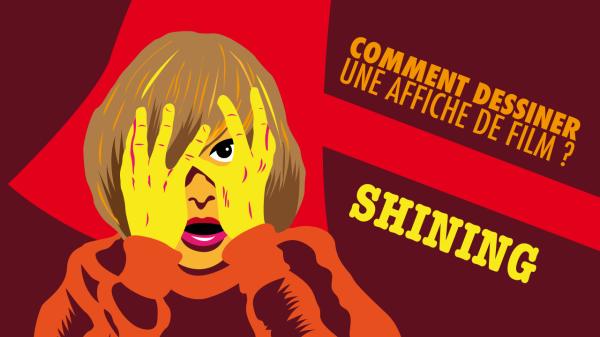 Comment dessiner une affiche de film : Shining