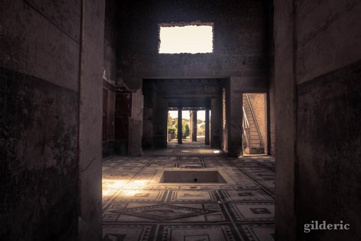 Dark Pompéi : à l'intérieur des maisons romaines