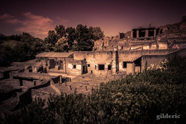 Dark Pompei : entrée de la ville