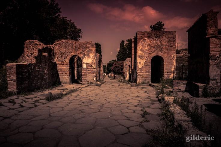 Dark Pompei : la nécropole