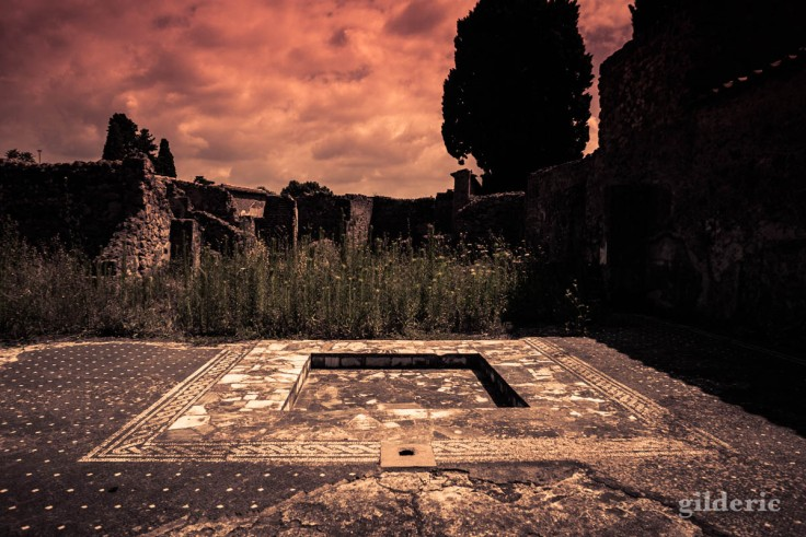 Dark Pompei : revisiter les ruines en photo