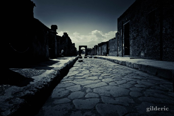 Dark Pompei : nuit éternelle