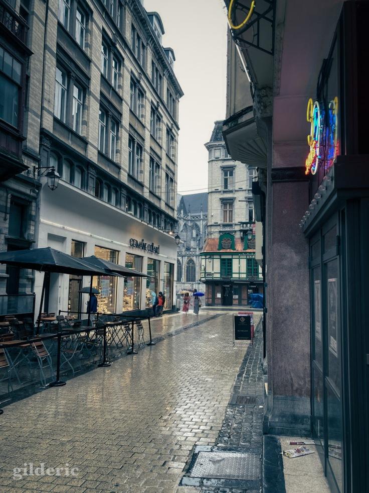 Aller au cinéma quand il pleut à Liège