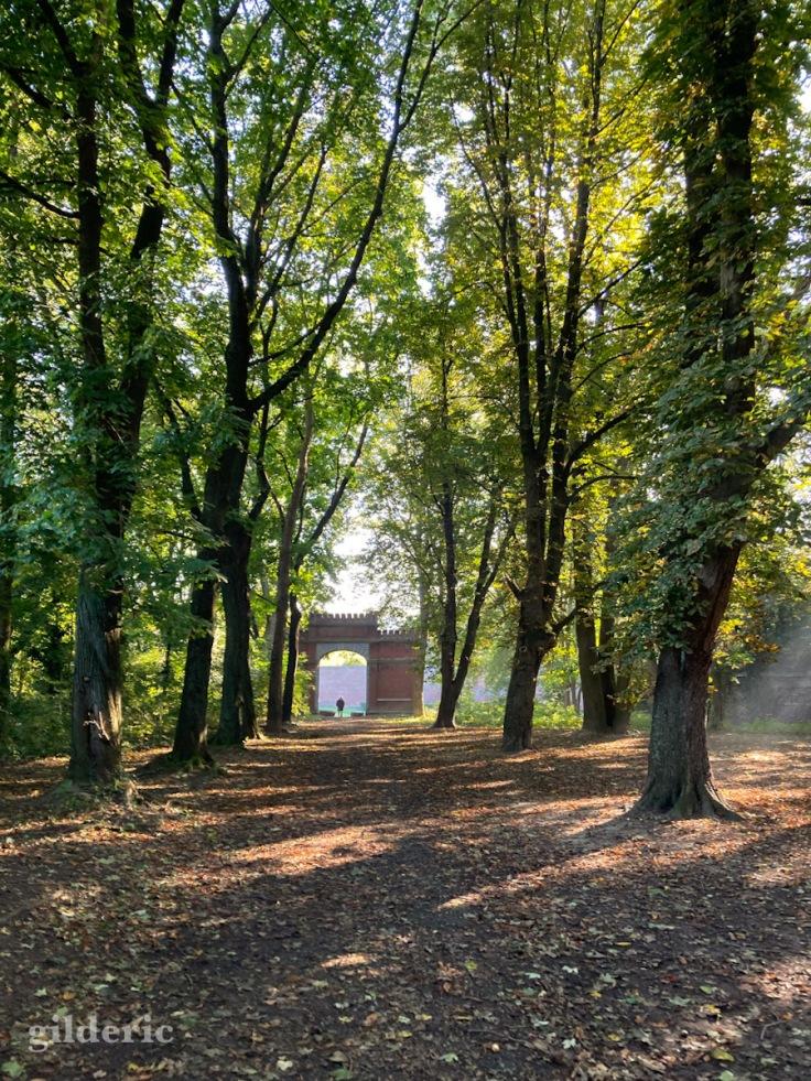 Lumière d'automne au Fort de la Chartreuse